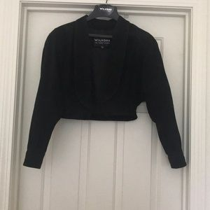 Wilson's cropped leather jacket